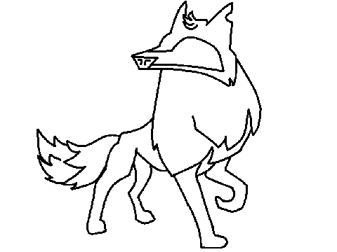 Animal Jam Coloring Pages Arctic Wolf - Fun Color Page | Animal jam ...