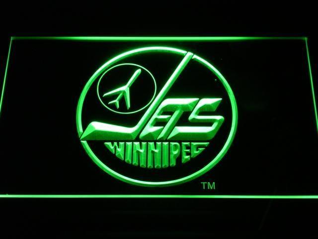 Winnipeg Jets Led Neon Sign Legacy Edition