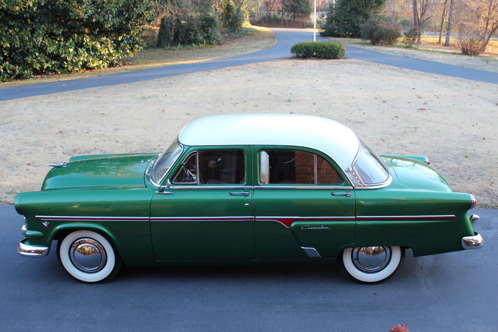 54 model ford customline sedan 4 doors antique cars for 1953 ford customline 4 door