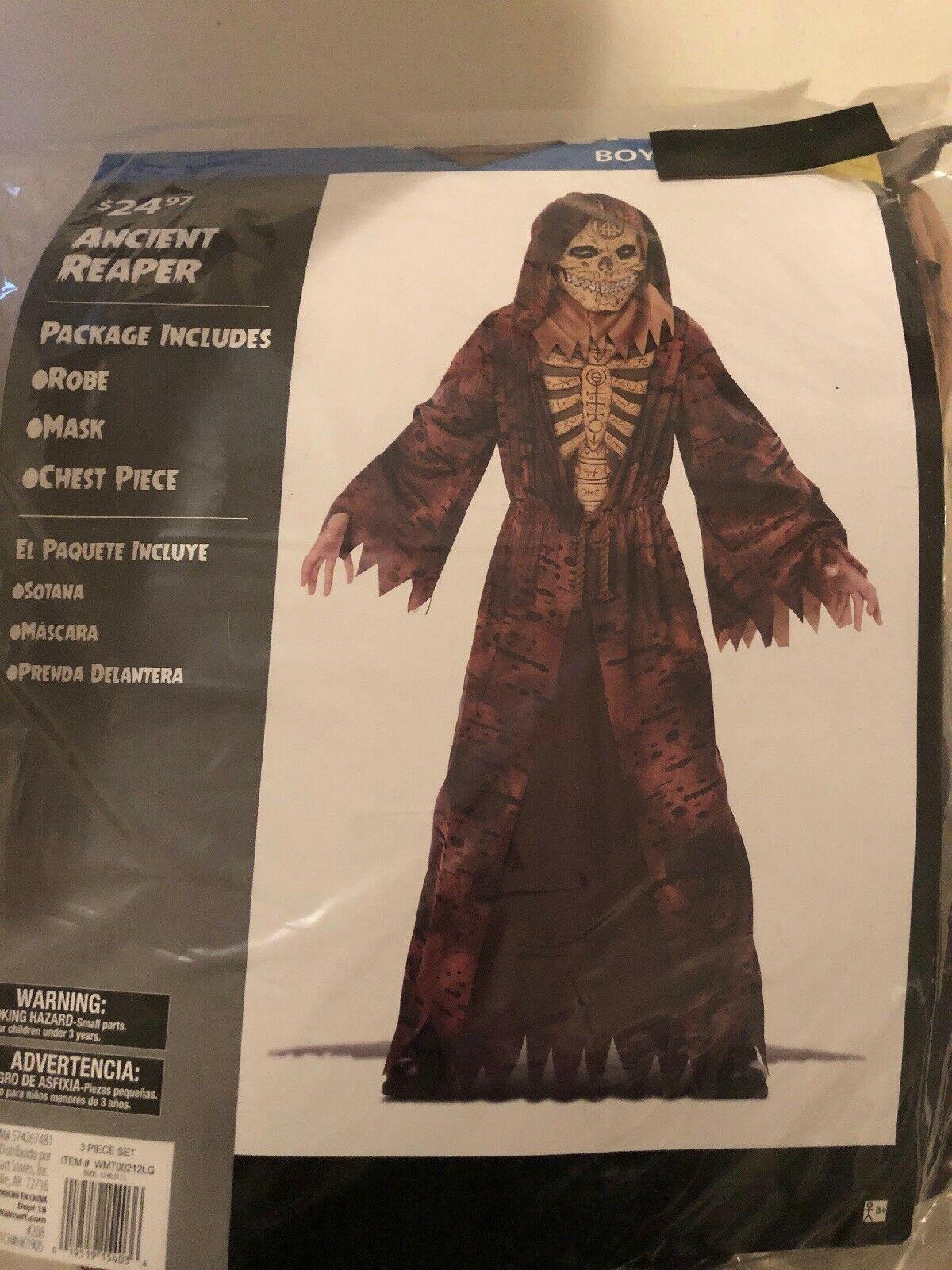 Halloween Costume Boy's Ancient Reaper Medium, or Large