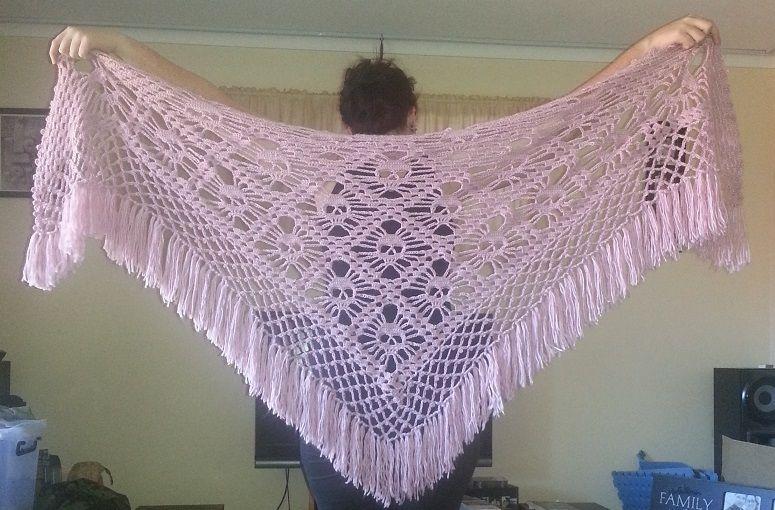 Crochet Skull Shawl Crochet Diy Pinterest Shawl Crochet And