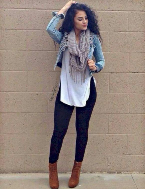 How to Wear Leggings Modestly: The 51 Best Winter Leggings Outfit Ideas for Women