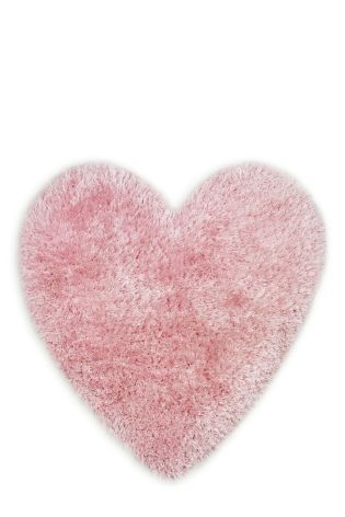 Sparkle Heart Rug From The Next Uk Online Perfect Pink Pretty In