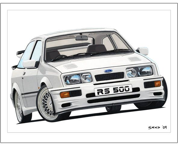 1987 Ford Sierra Cosworth Rs500 Gt Turbo