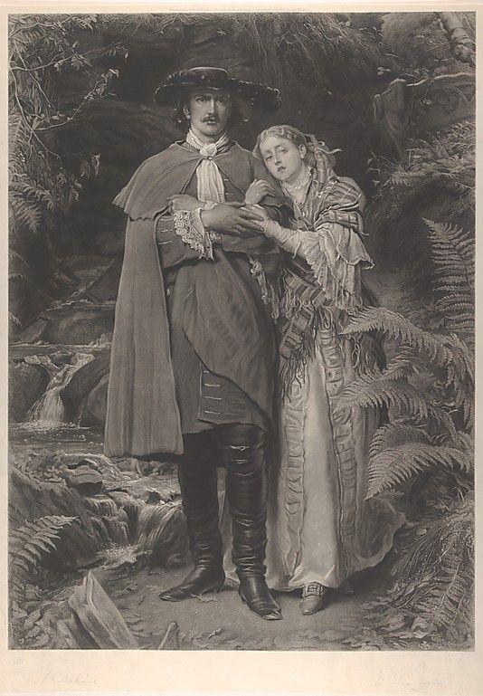 The Bride of Lammermoor After Sir John Everett Millais (British, Southampton 1829–1896 London)