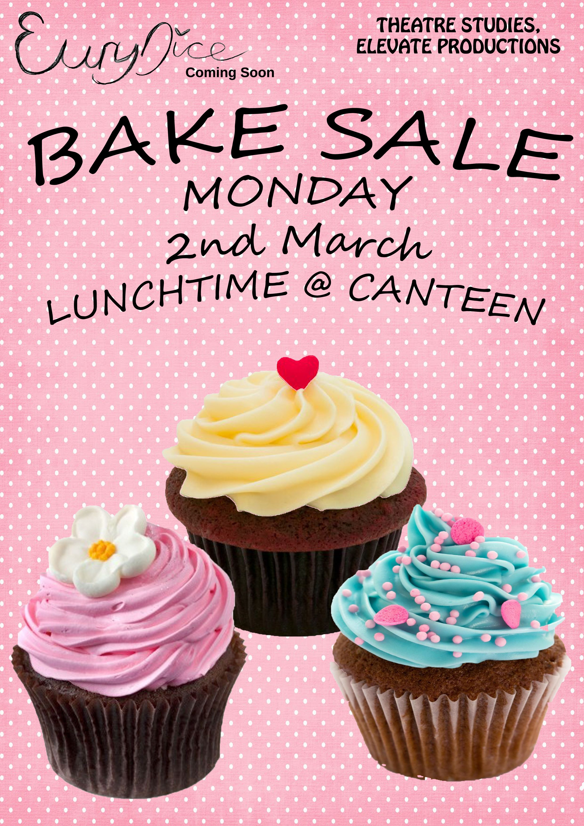 Bake Sale Poster  Oslc Bake Sale    Sale Poster And
