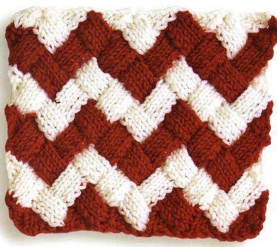 Knitting Patterns Free Entrelac Knitting Pattern 1 Stockinette