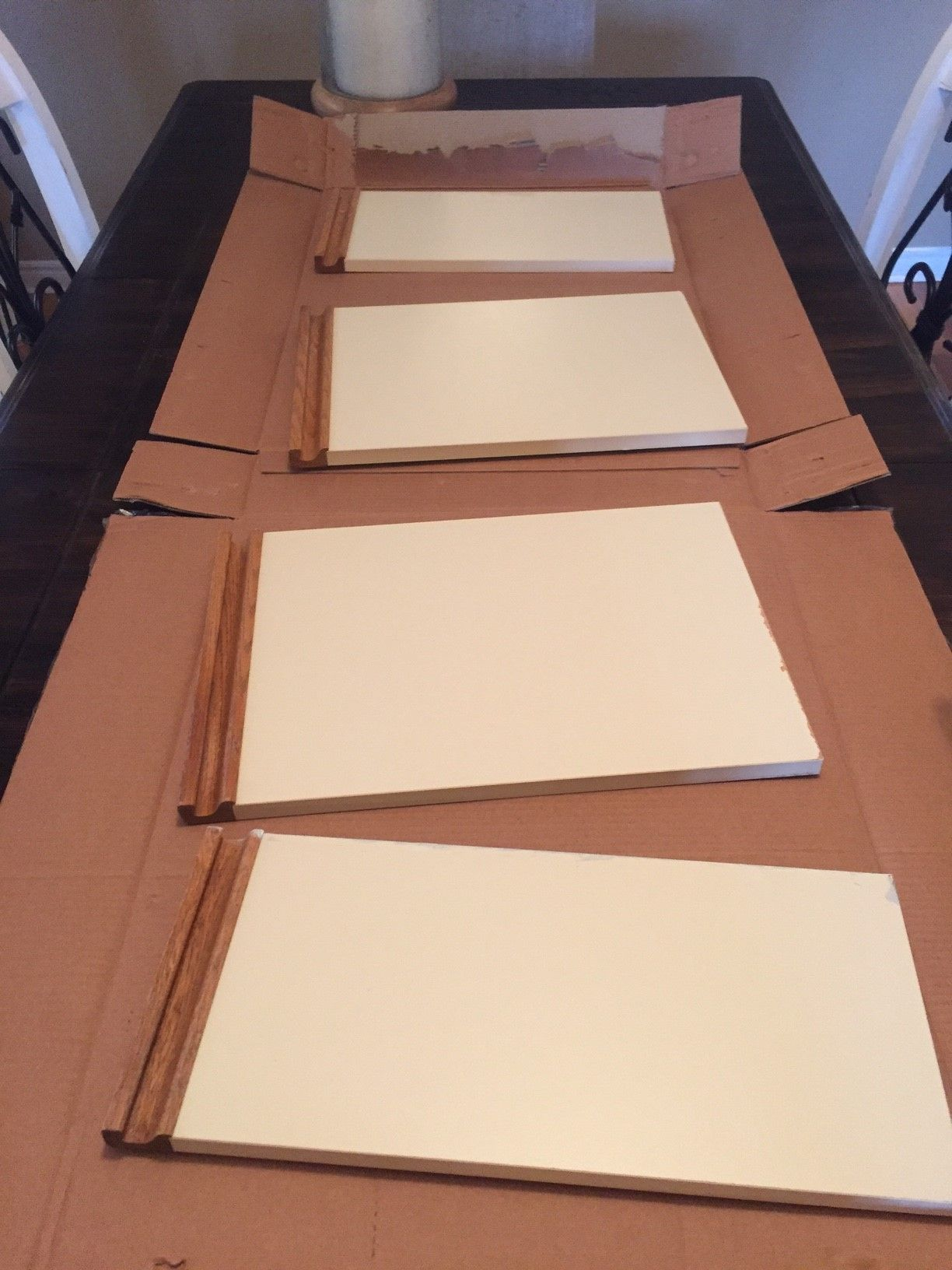 Bathroom Update + How to Paint Laminate Cabinets ...