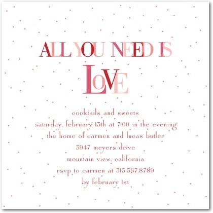 all white party invitations wording - Yahoo Image Search Results - valentines day invitations