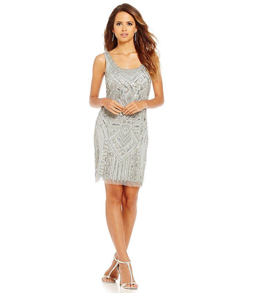Sleeveless Sequin Dresses