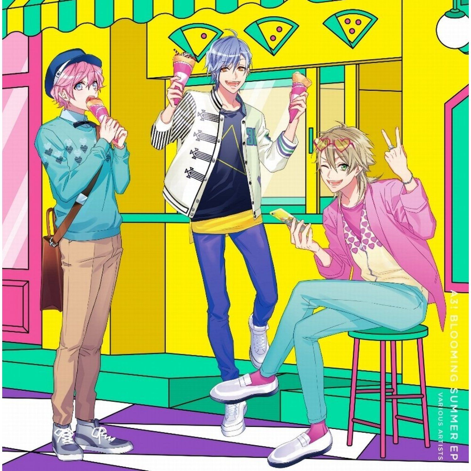 A3! Blooming Summer Ep Anime gangster, Anime guys, Boy poses