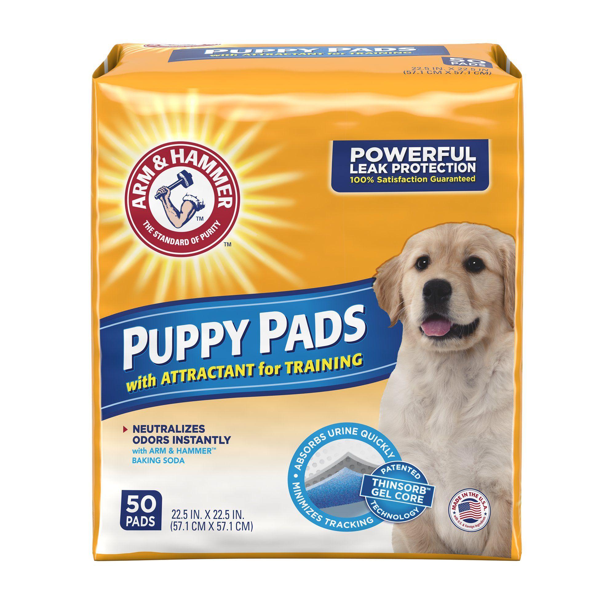 Arm Hammer Puppy Pads Medium Puppy Pads Dog Pads Training Pads