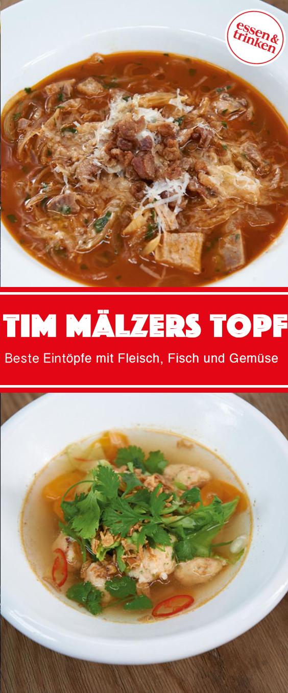 Eintöpfe für alle: Rezepte von Tim Mälzer