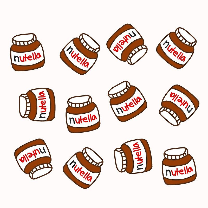 Cute Tumblr Nutella Pattern Throw Pillow By Deathspell Tumblr Pattern Tumblr Bubbles Cute Wallpaper For Phone