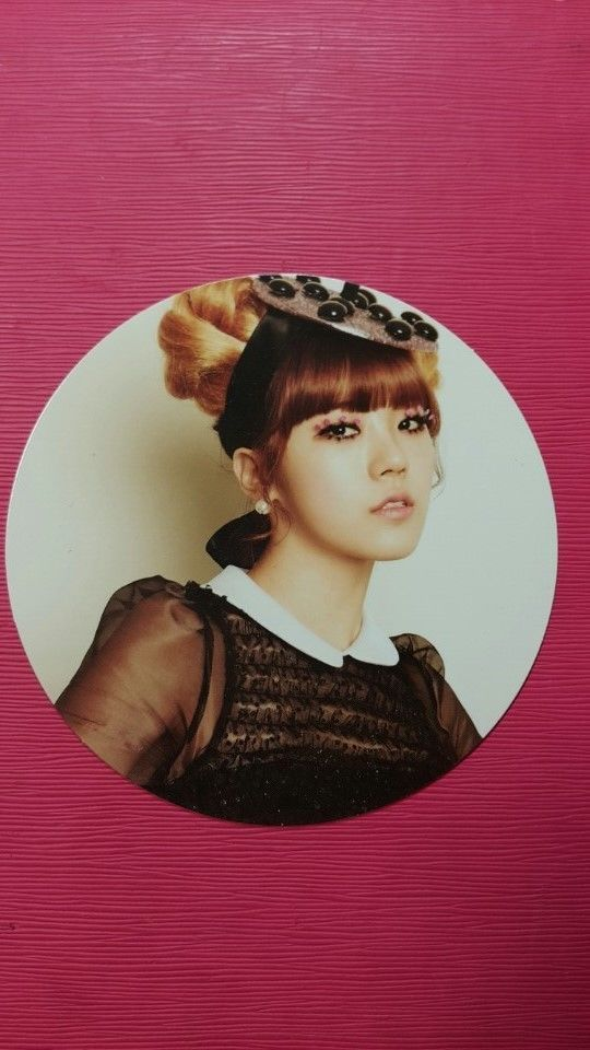 ORANGE CARAMEL LIZZY Official Photo Card 3rd CATALLENA AFTER SCHOOL Photocard