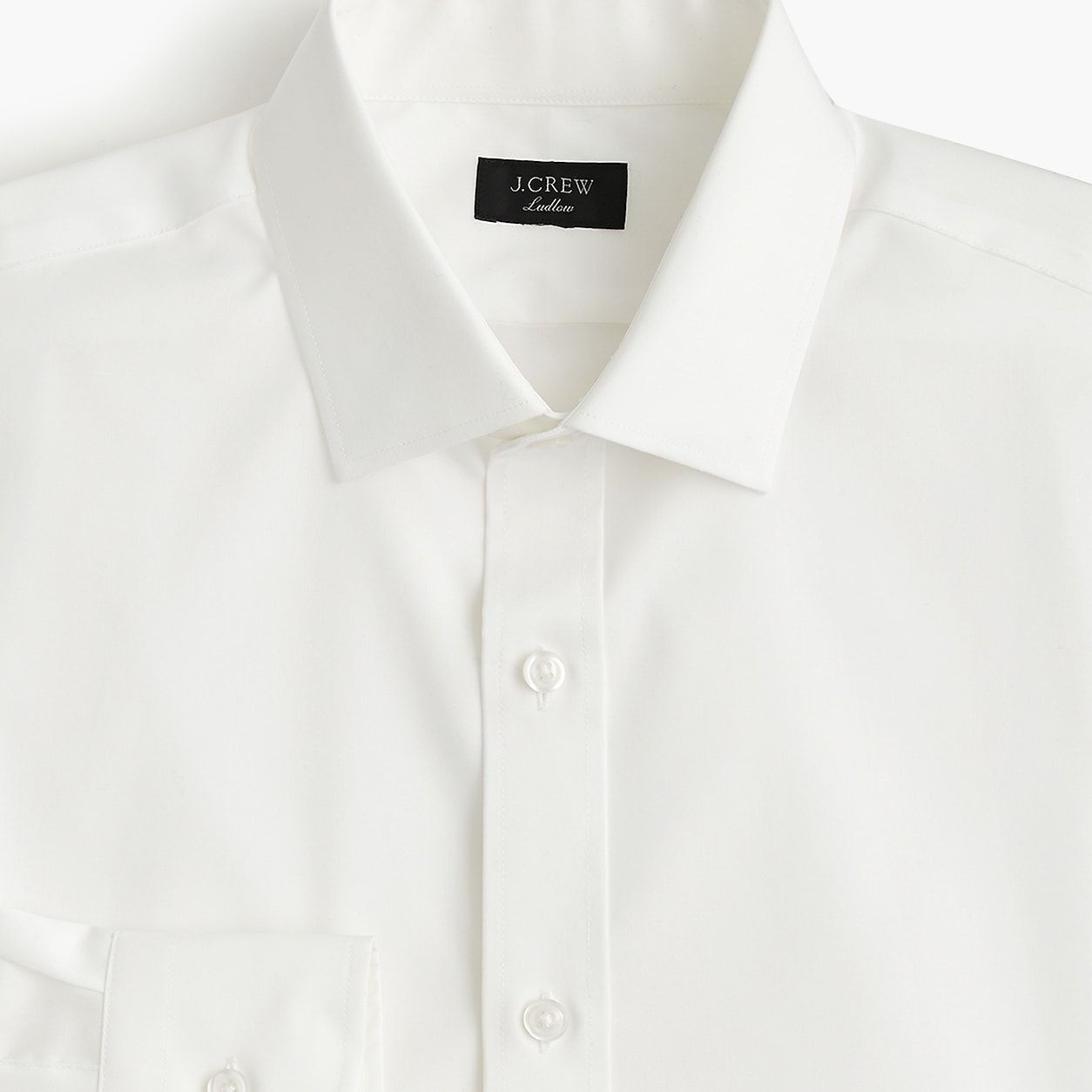 96768f24dea15 Ludlow Slim-Fit Stretch Two-Ply Easy-Care Cotton Dress Shirt In Solid