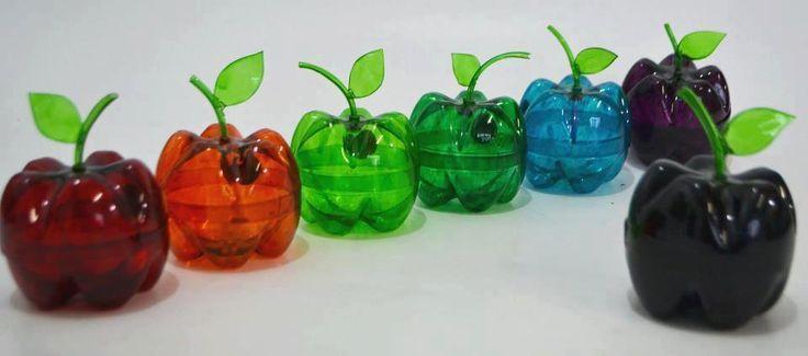 manualidades botellas plastico - Buscar con Google MANUALIDADES
