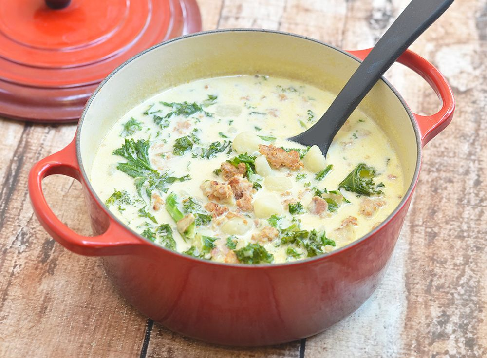 Zuppa Toscana (Olive Garden's Tuscan Soup) Recipe