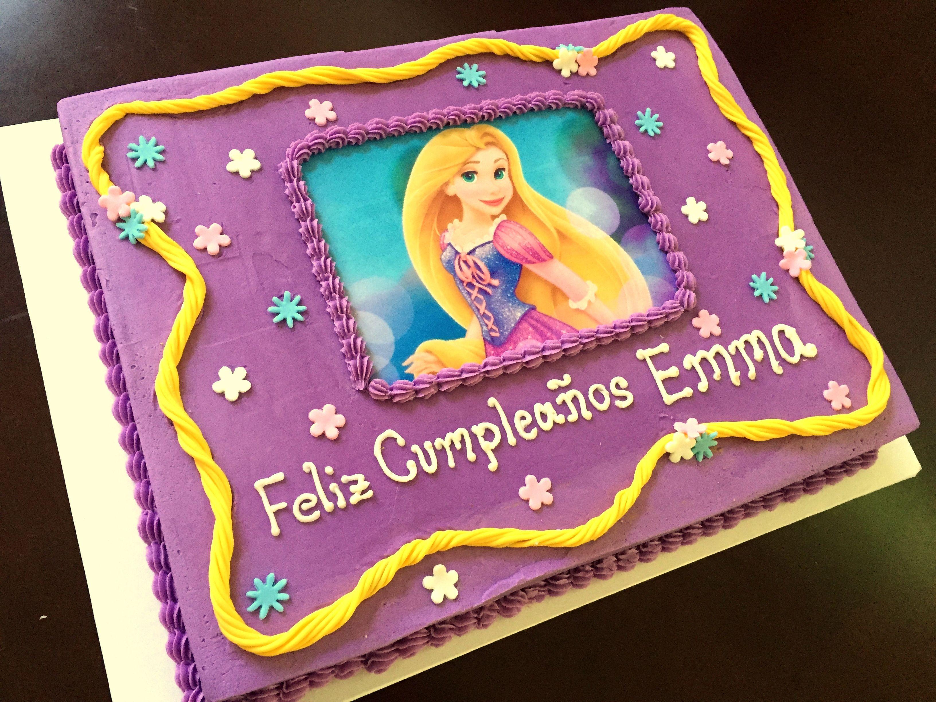 Rapunzel Sheet Cakes Carnavalsmusic
