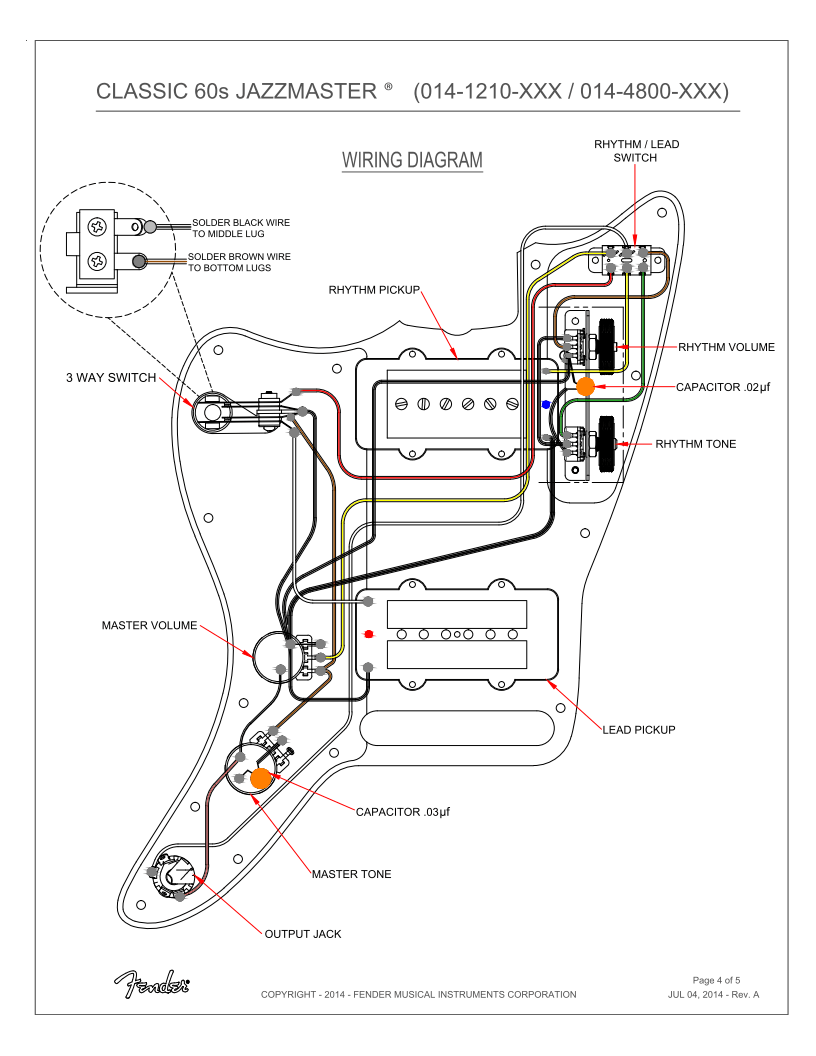 [DIAGRAM_5LK]  Jazzmaster Wiring Diagram - 2014 Dodge Ram Fuse Box Diagram for Wiring  Diagram Schematics | Fender Jaguar Wiring Diagrams |  | Wiring Diagram Schematics