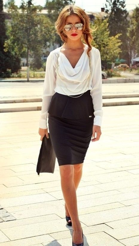 51 Cute Pencil Skirt Outfits for Work [Summer Edition] - #MyCuteOutfits