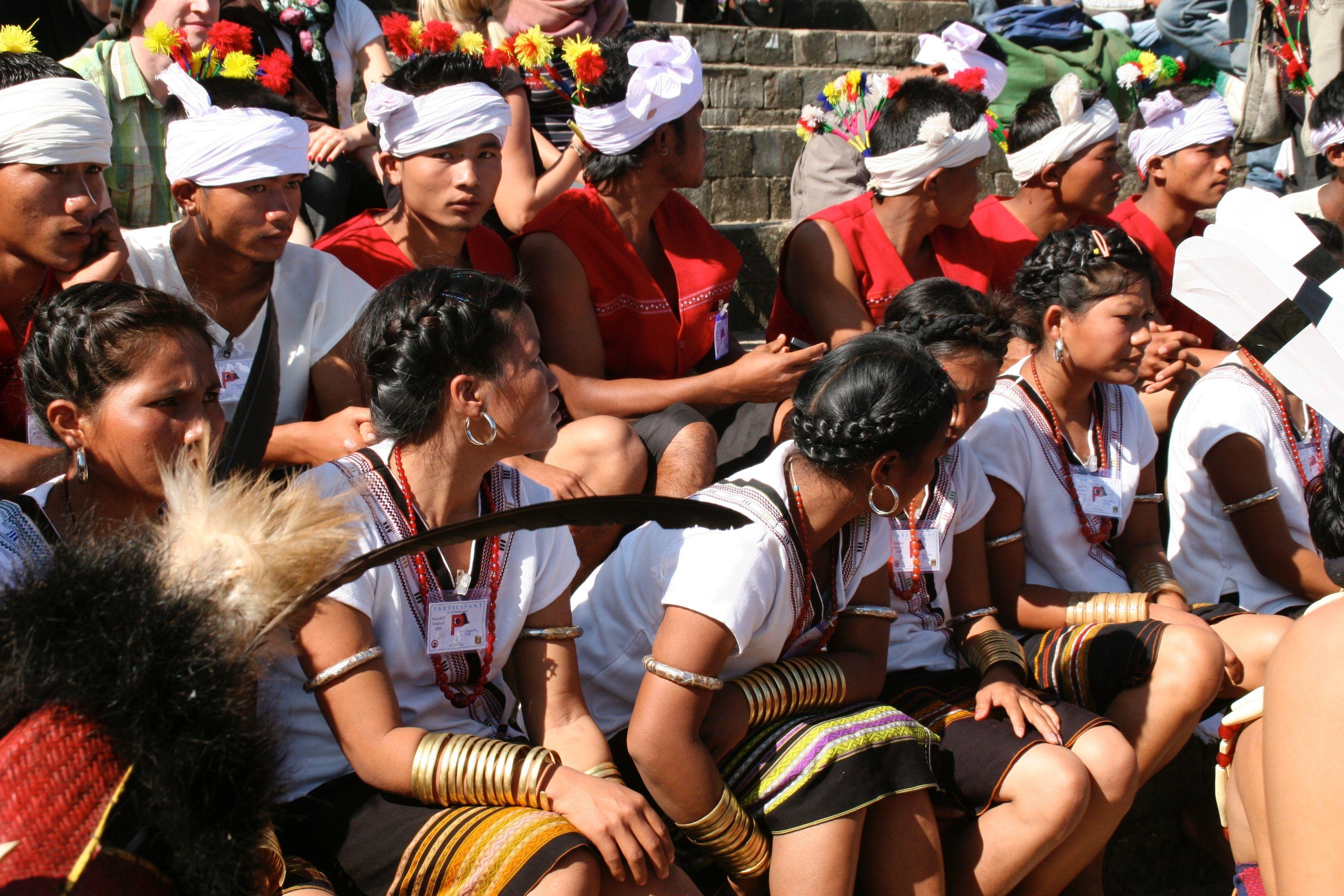 Kuki tribe of Nagaland | Nagaland and Naga Food | Sumo, Sports