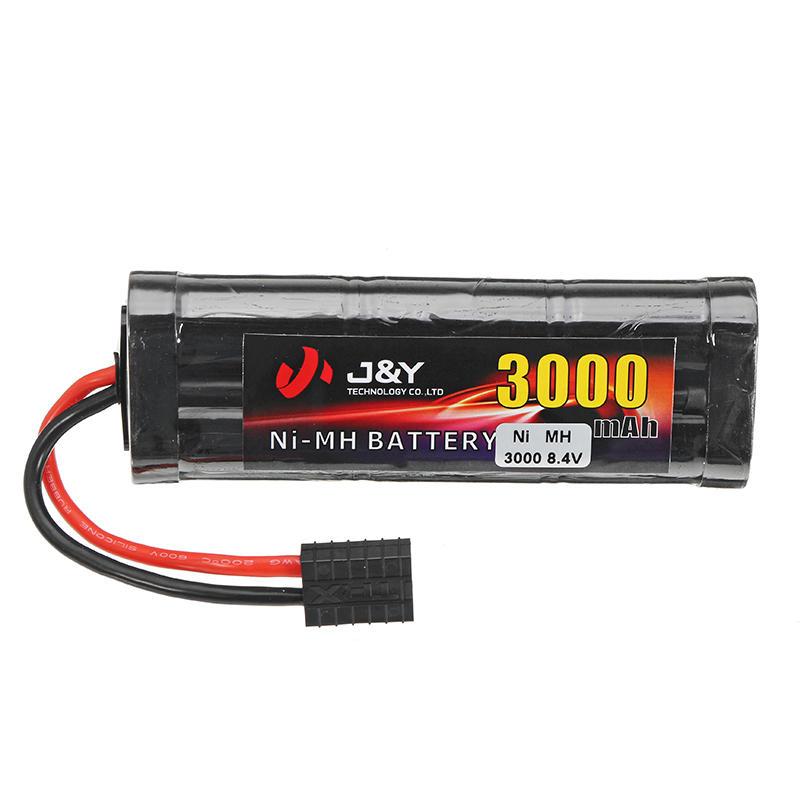 J Y 8 4v 3000mah Nimh Rechargeable Battery Pack Trx Plug For Traxxas Rc Car Rc Cars Traxxas Nimh Rc Cars