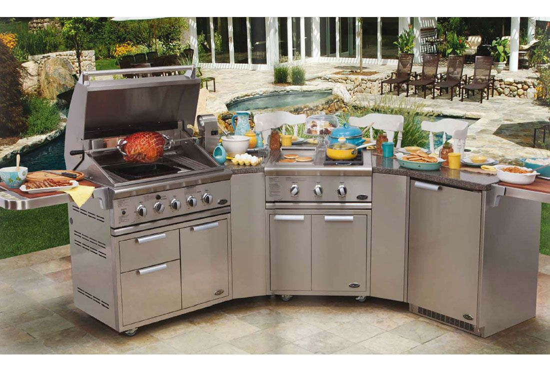 Images Of Dcs 15 Piece Stainless Steel Outdoor Kitchen Set