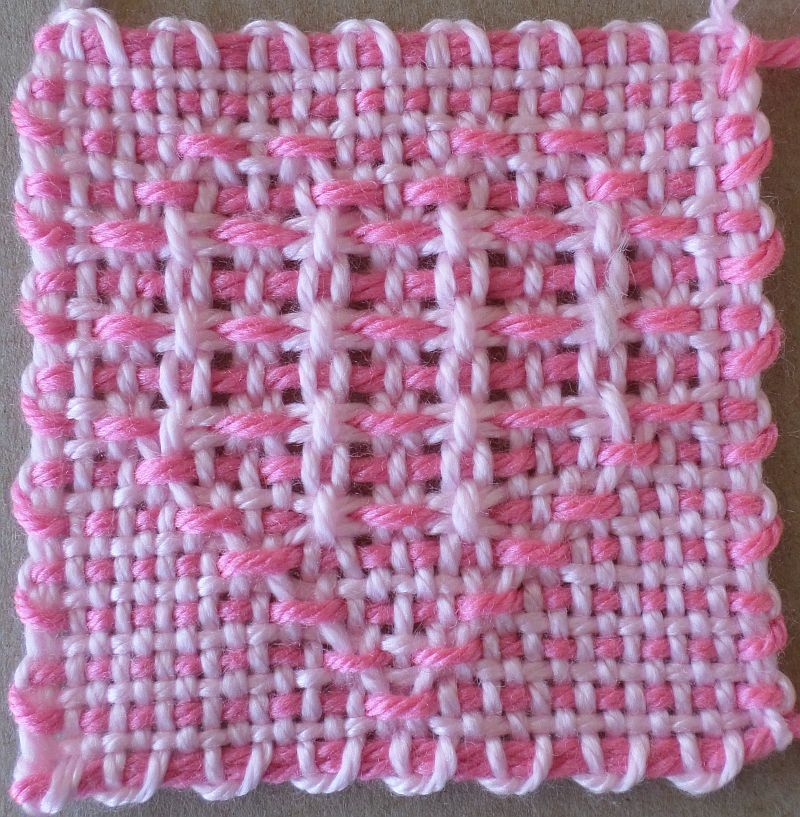 Open Weave Heart 1 and 2 — 4″ (31 x 31) patterns ...