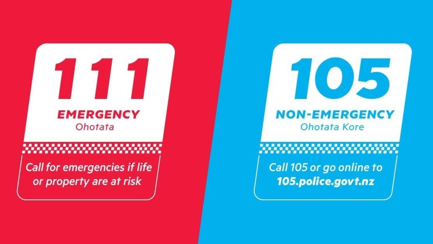 Backyard Banter Police Launch 105 Non Emergency Call Number Emergency Call Emergency Banter