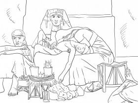 Search Joseph in the pit for the coloring page! | Sunday ...