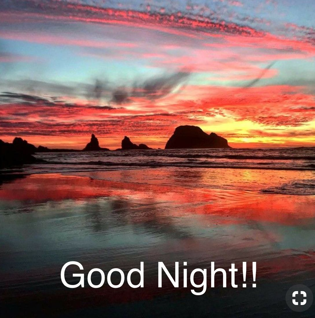 Good Night Beautiful Landscape Photography Sunset Morning Sky