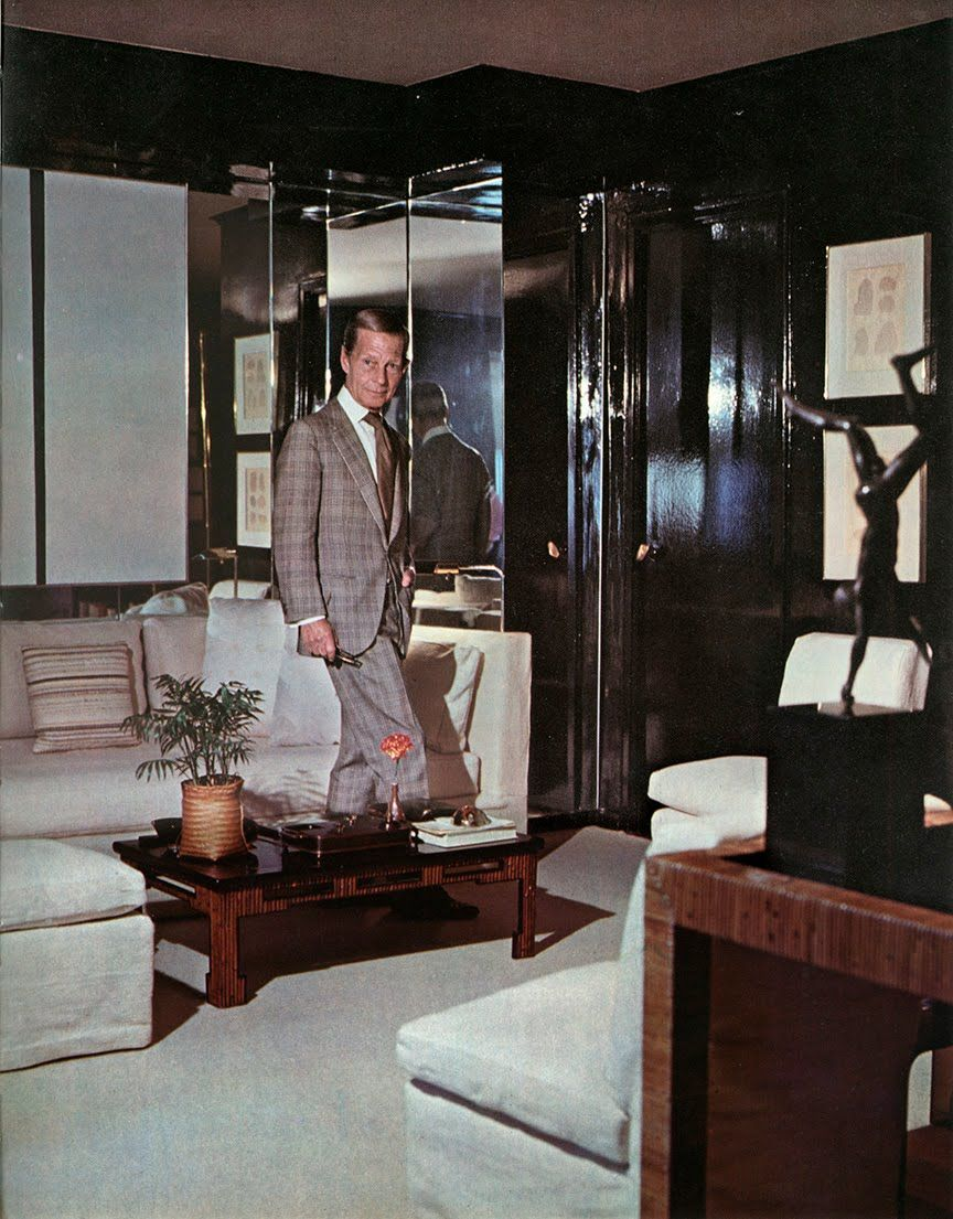 billy baldwin commenting on his benchmark midtown apartment in new york city 1973 - Billy Baldwin Interior Designer