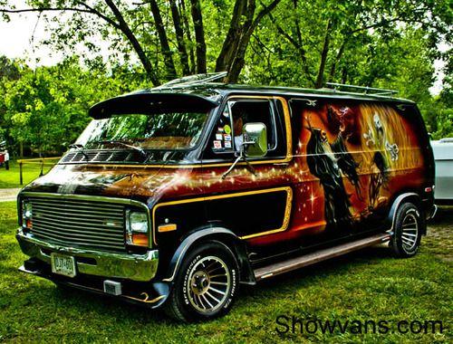 Original Vanners Custom Vans Van Cool Vans