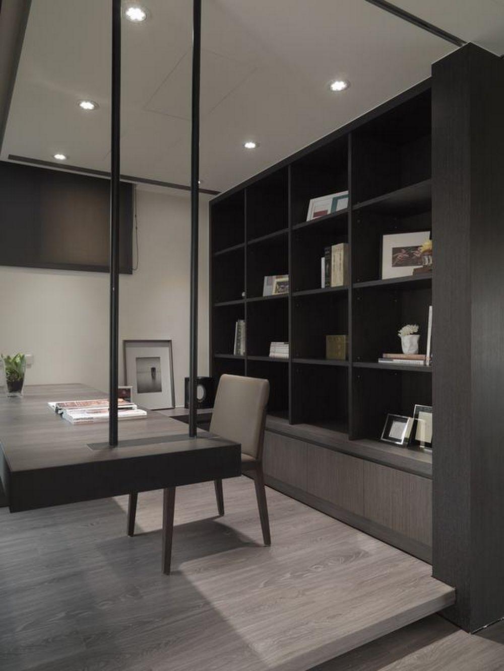 Study Room Interior Design: Contemporary Interior Design, Study Room