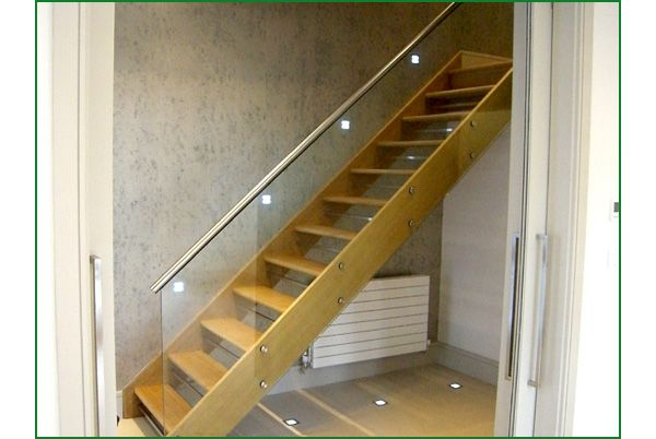 Best Case Study Moncaro Modern Glass Staircase Stairs 400 x 300