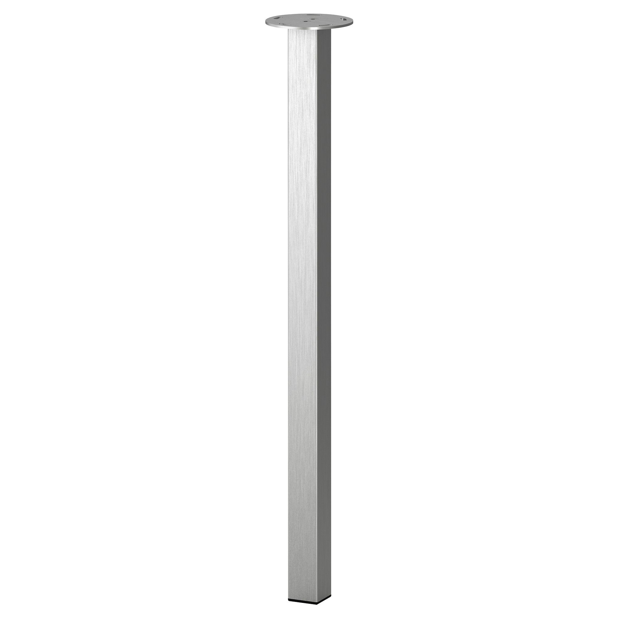 SJUNNE Leg - IKEA--Pair these inexpensive, sleek table legs with a custom