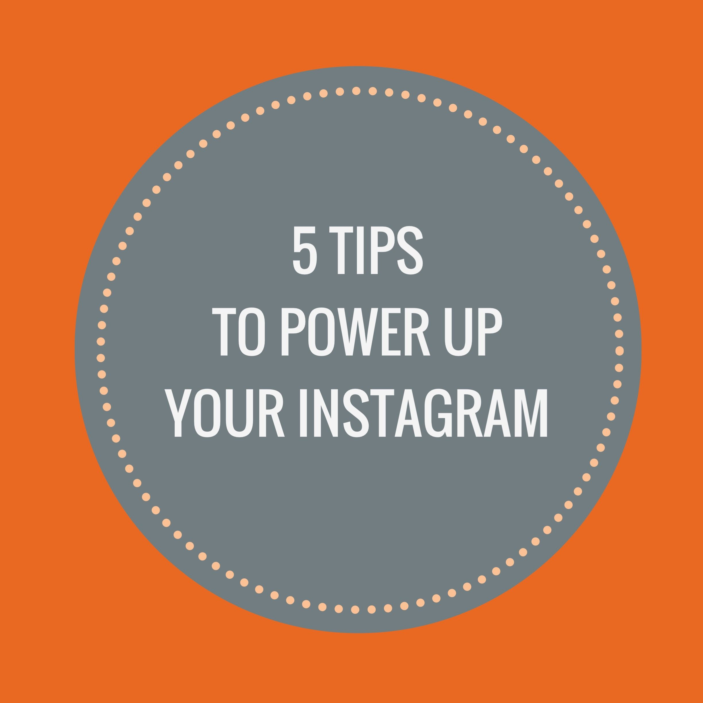 Tips To Power Up Your Instagram via trainerize  training