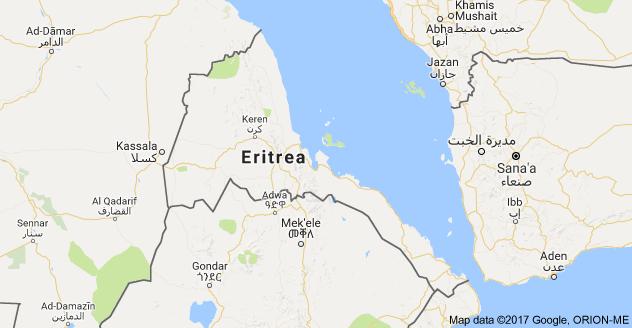 Map of Eritrea eritrea show Pinterest Google