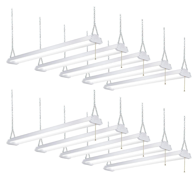 Honeywell Led 4 Garage Shop Work Light Fixture 10 Pk