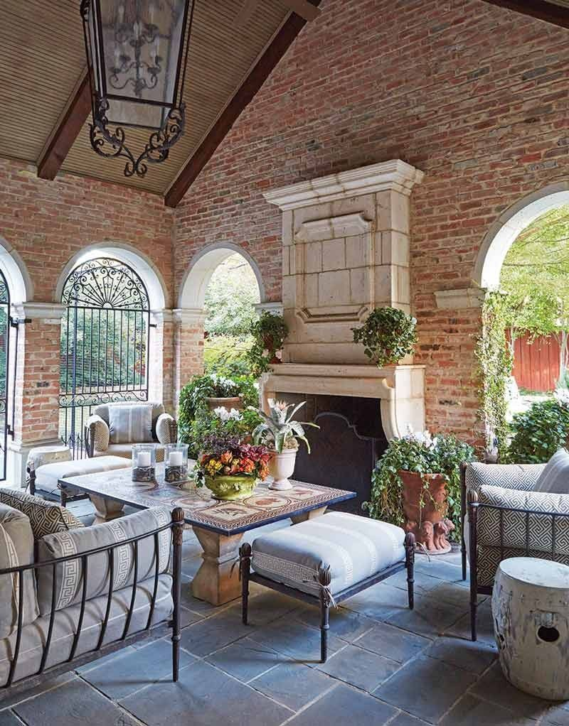 Southern Home | Outdoor rooms, Outdoor living, House and ... on Ab And Outdoor Living id=84382
