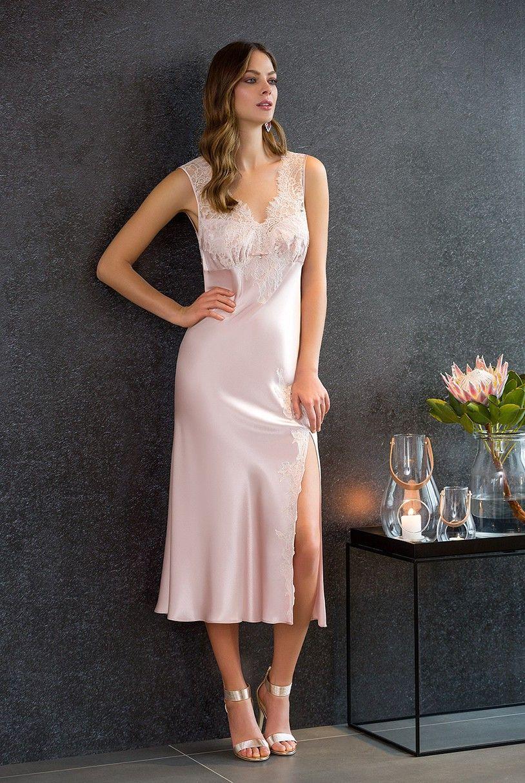9a83051764 Nightwear- Nightdress - Coemi-lingerie Satin Nightie