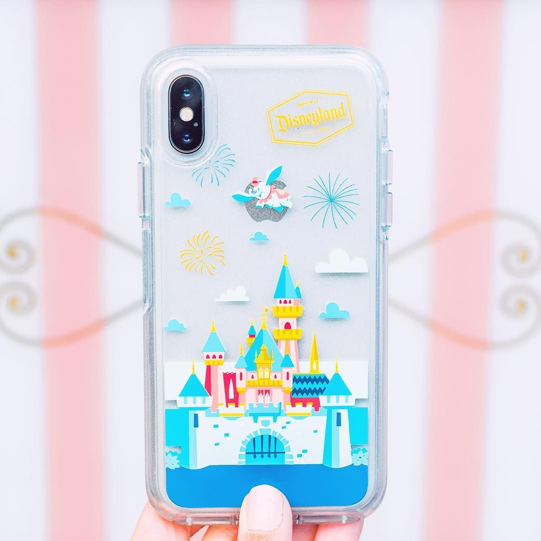 Happiness In A Phone Case Disneyland Disneyland Disney Dlr Shopdisneyparks Shopdisney Dis Disney Cases Disney Phone Cases Otterbox Phone Cases