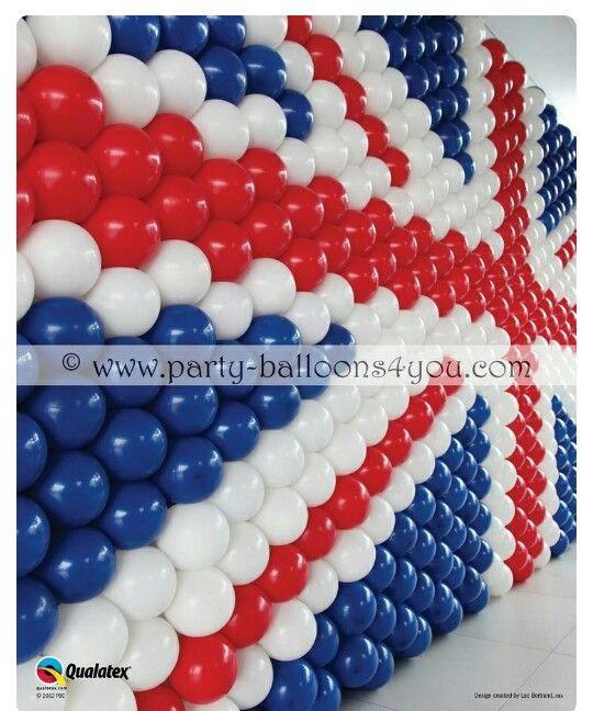 Painel ballon london party pinterest british union for Balloon decoration london