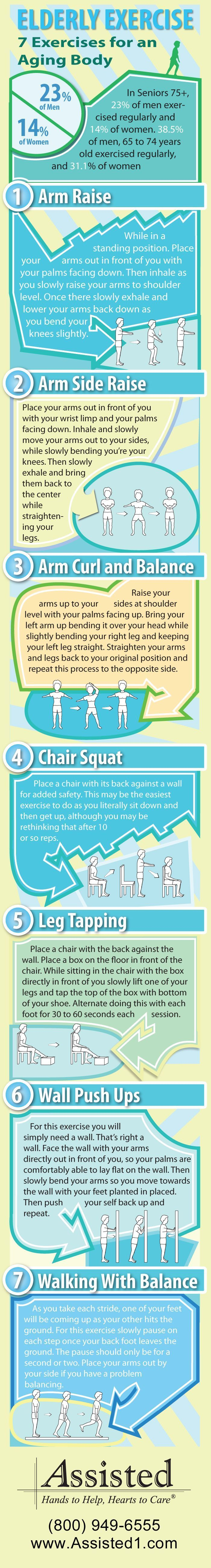 7 #Elderly Exercises to get the Body Moving