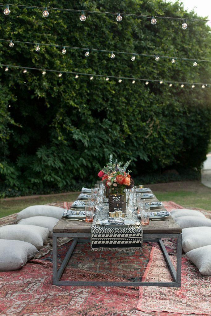 24 Dreamy Ideas For Boho Patio Dining Rooms Low Dining Table Outdoor Boho Patio