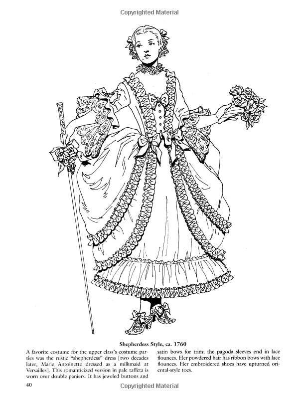 French Baroque And Rococo Fashions Dover Fashion Coloring Book Amazon Co Uk Tom Tierney 97804864238 Fashion Coloring Book Coloring Book Art Coloring Books