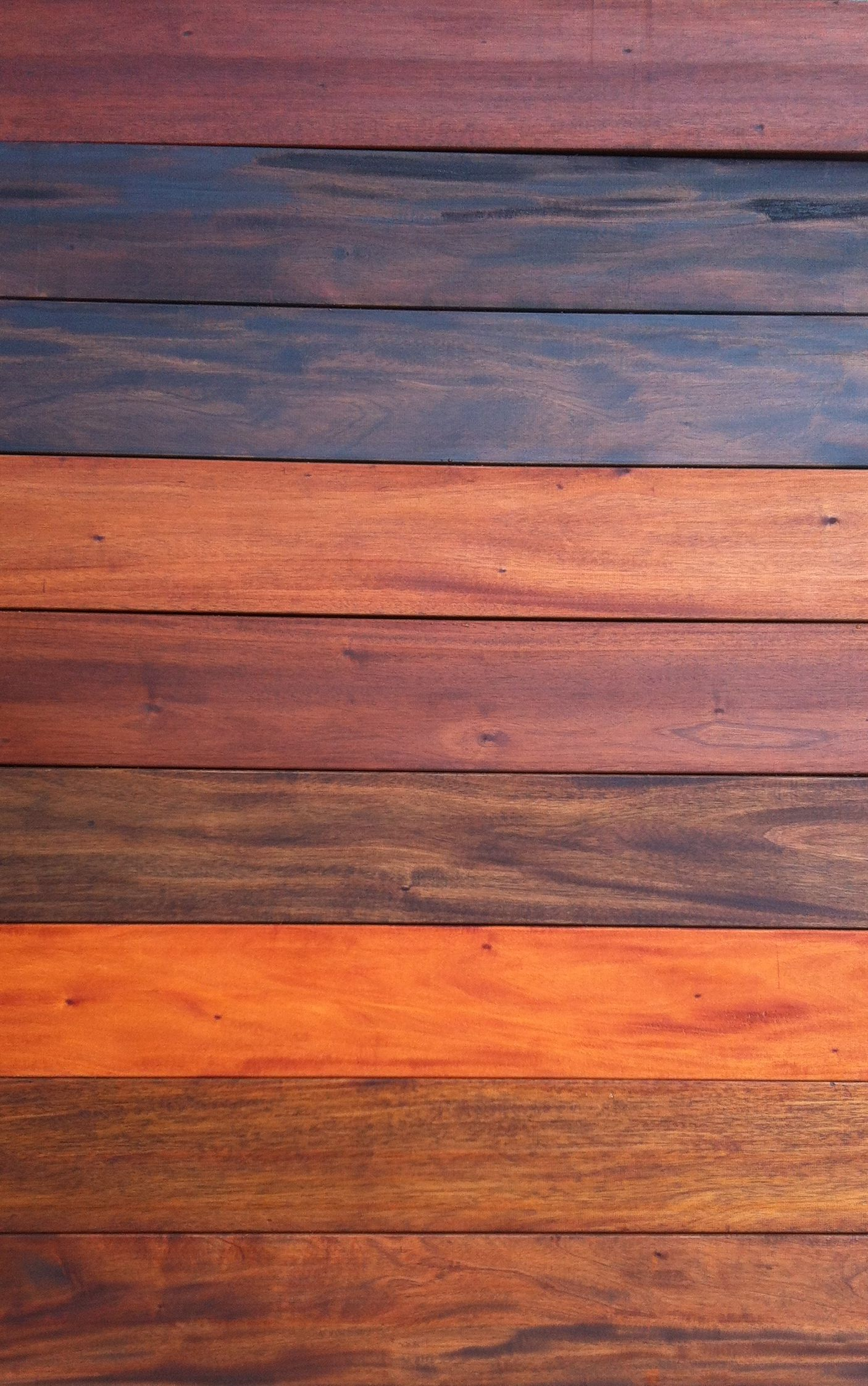 9 different stains on Genuine Mahogany. To Learn more or
