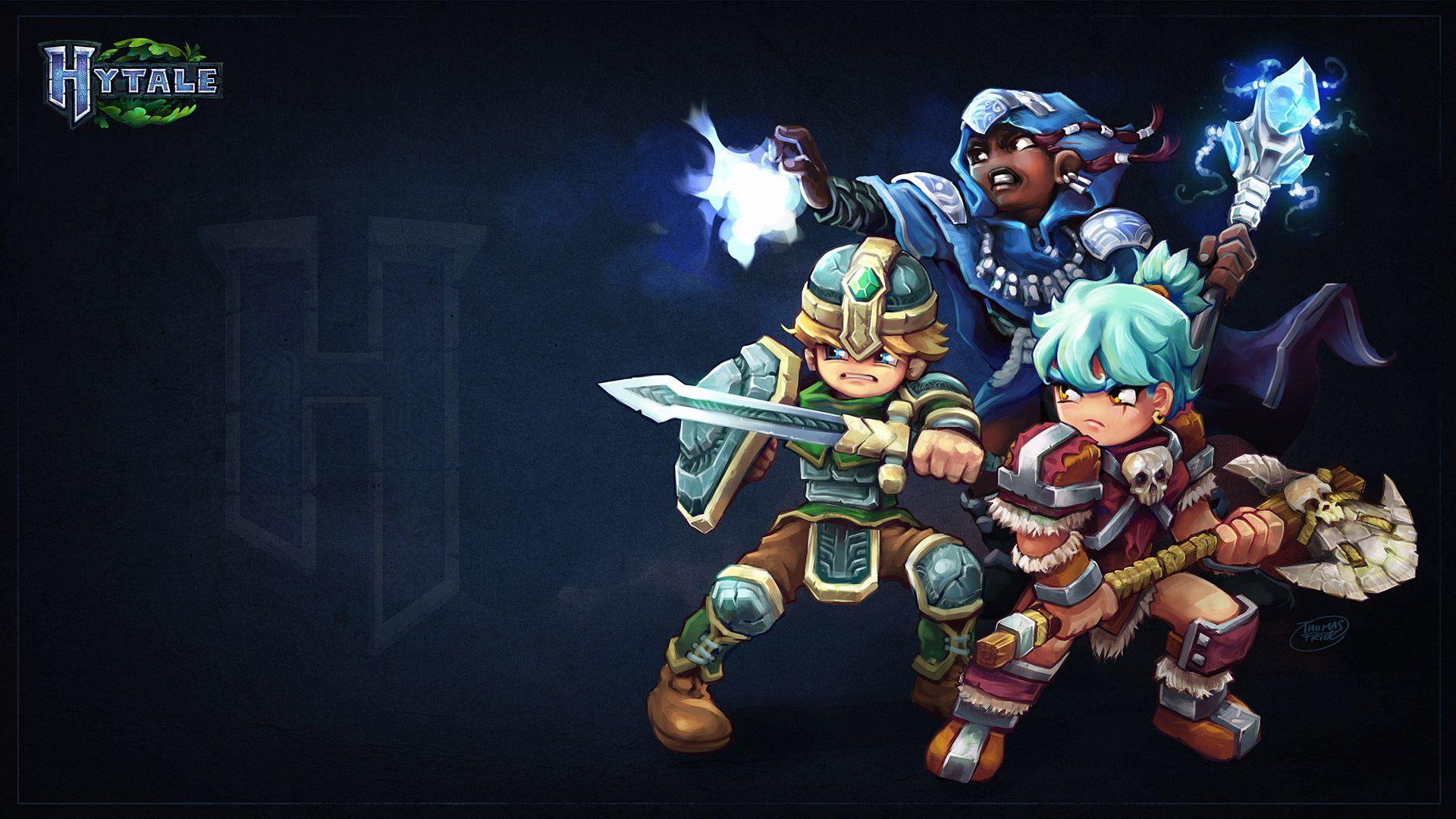 Wallpaper de Hytale réaliser par Hypixel Studio   Hytale   Game