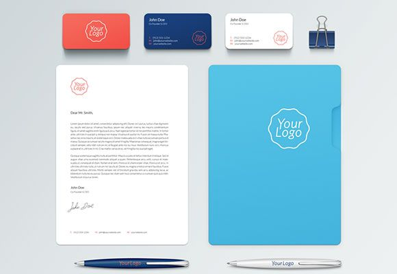 todays freebie on graphicburger is a corporate and stationary